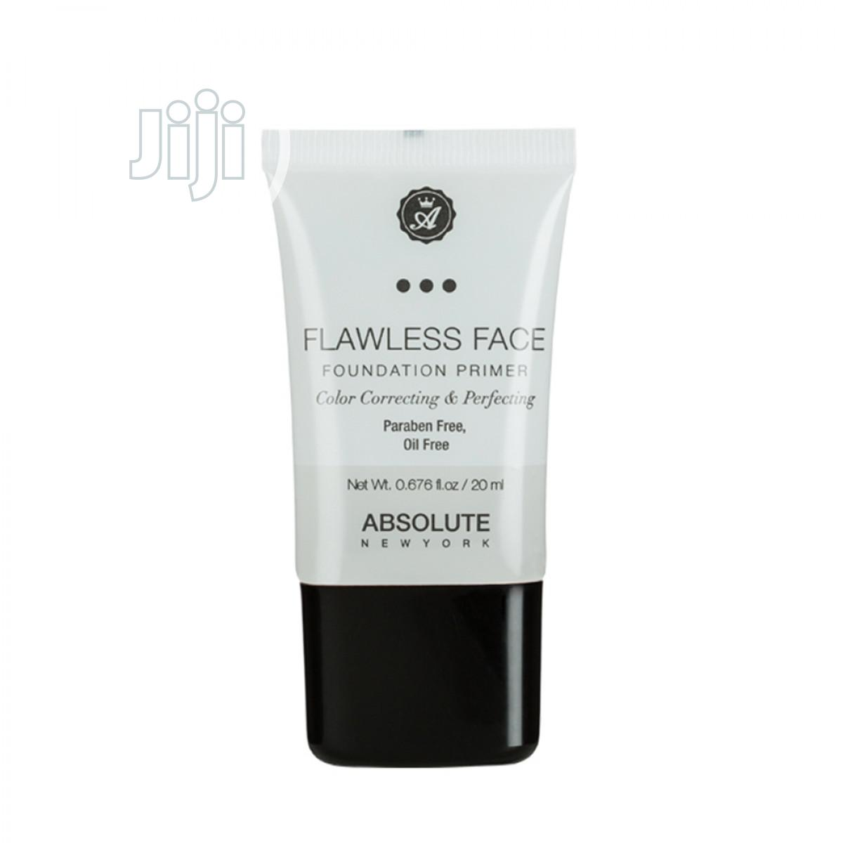 Archive: Absolute New York Flawless Face Foundation Primer - 20ML