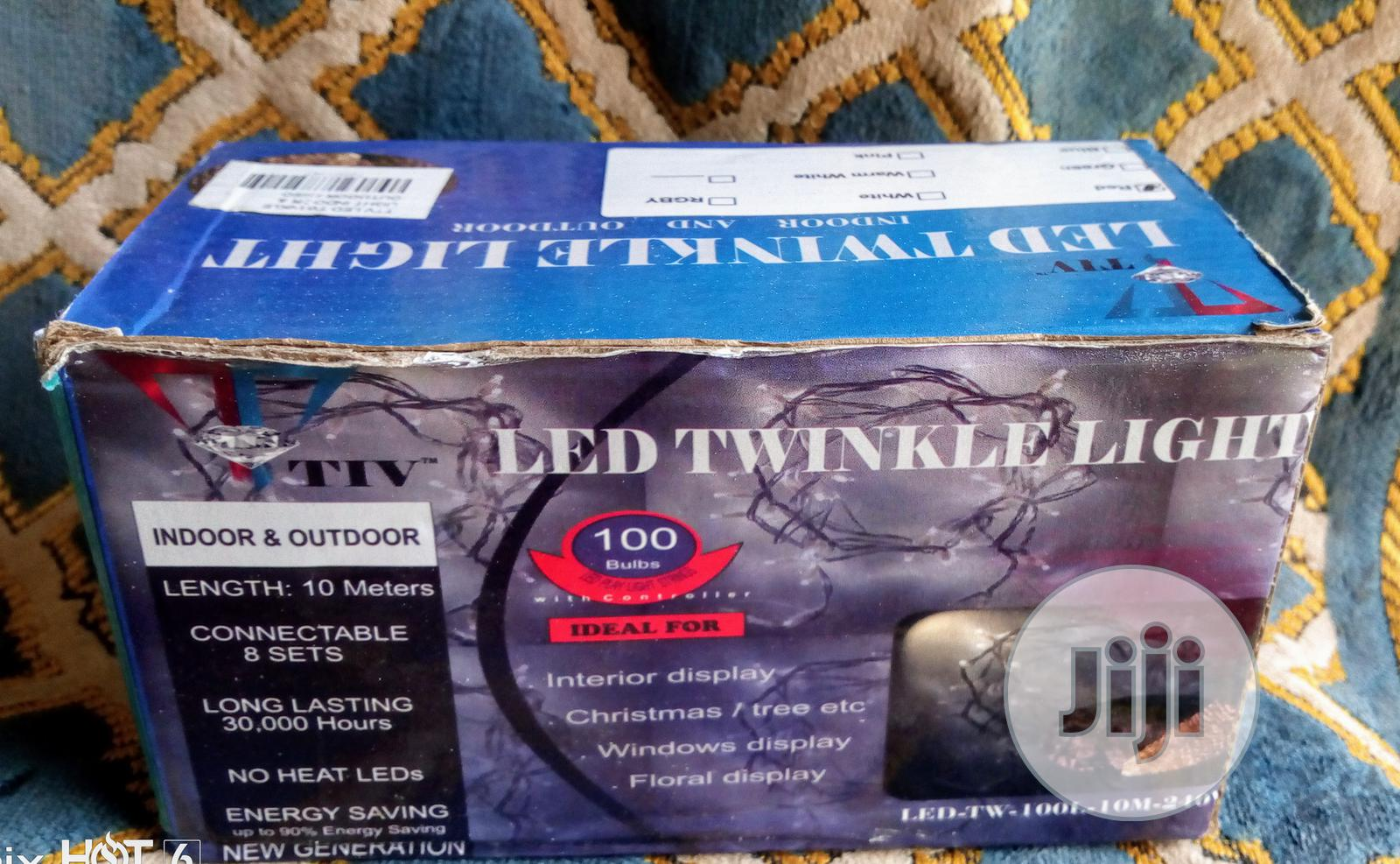 Archive: 100 LED TWINKLE LIGHTS For Sale