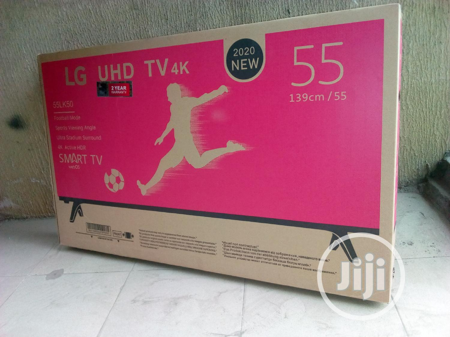 """55"""" Inches LG Smart Tv."""