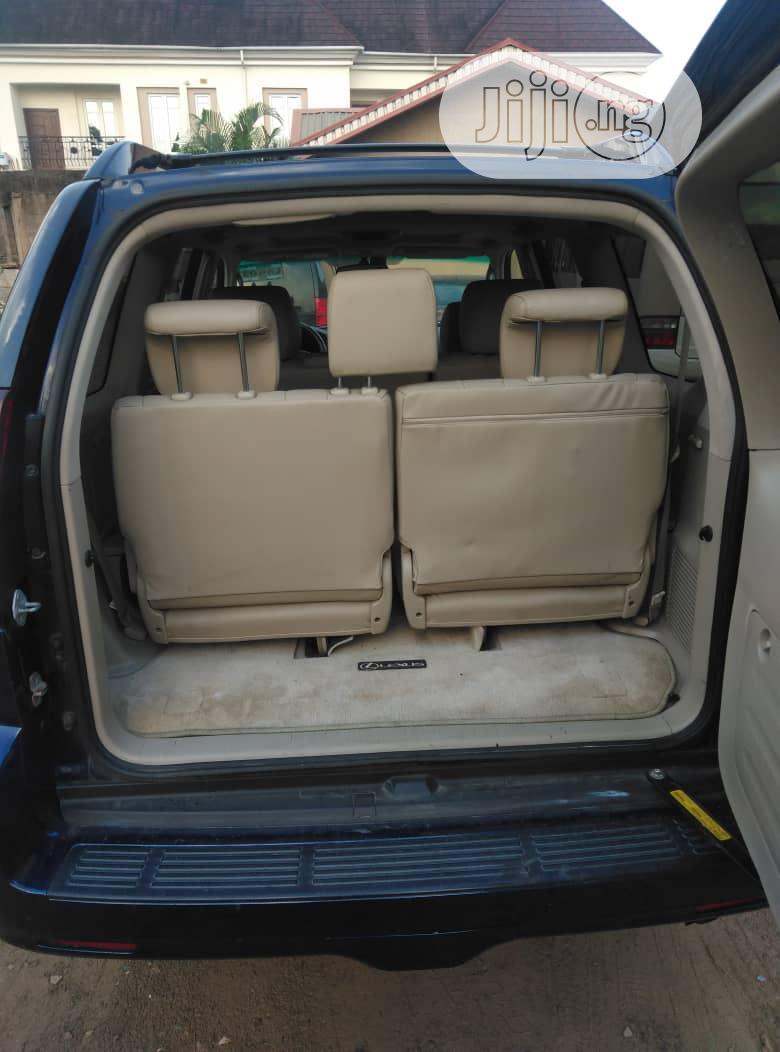 Lexus GX 2006 470 Sport Utility Blue | Cars for sale in Ojodu, Lagos State, Nigeria
