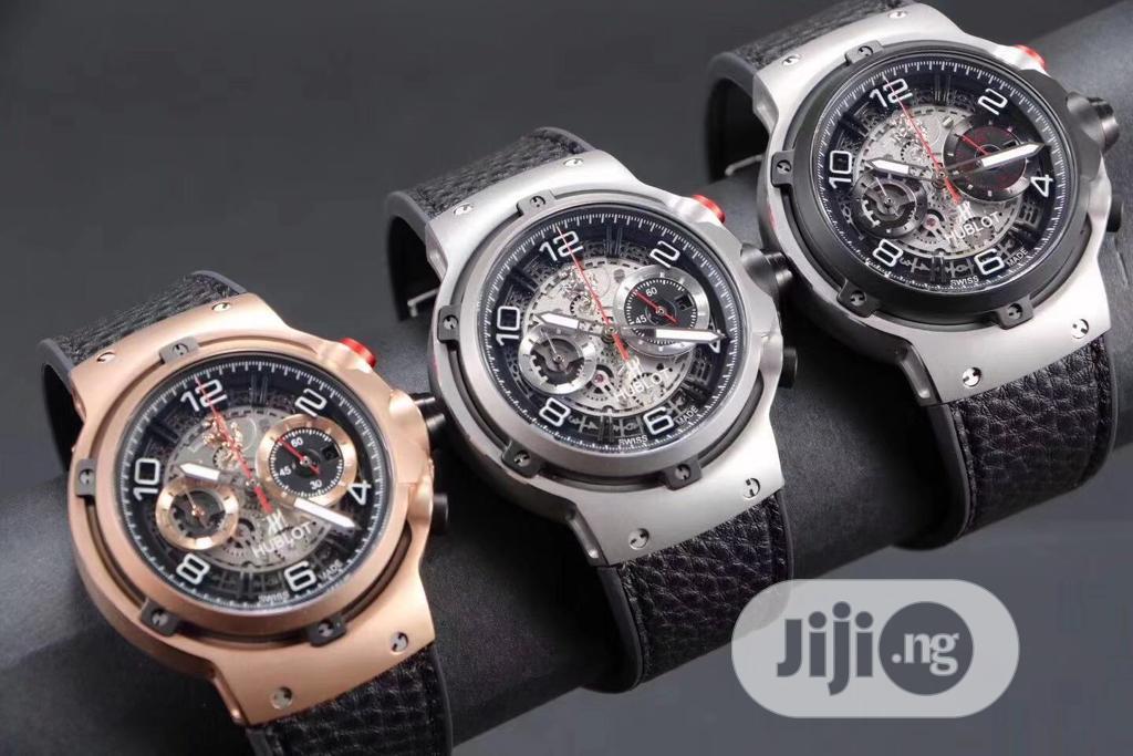 Archive: Hublot Ferrari Watch With Genuine Leather