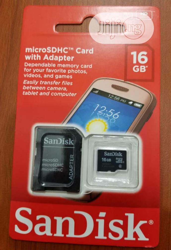 Archive: Sandisk 16GB Memory Card