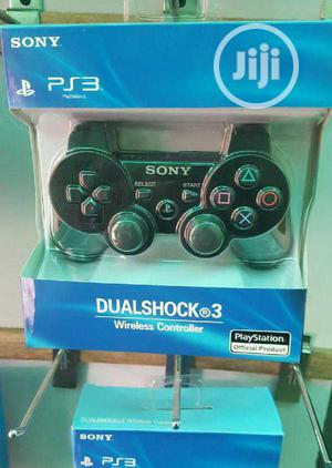 Sony Playstation 3 Wireless Gamepad Original Ps3 Pad   Video Game Consoles for sale in Lagos State, Ikeja