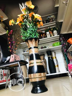 Flower Vase Pot and Flowers | Home Accessories for sale in Lagos State, Abule Egba