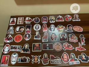 R&M And Money Heist Stickers | Stationery for sale in Lagos State, Surulere