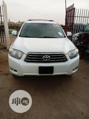 Toyota Highlander 2008 Sport White   Cars for sale in Lagos State, Isolo