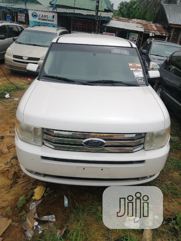 Ford Flex 2010 SEL White