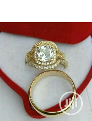 Rose Gold Plated Wedding Ring | Wedding Wear & Accessories for sale in Lagos State, Surulere