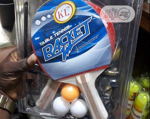 3 In 1 Table Tennis Bat With 3 Egg | Sports Equipment for sale in Lagos State, Ikoyi