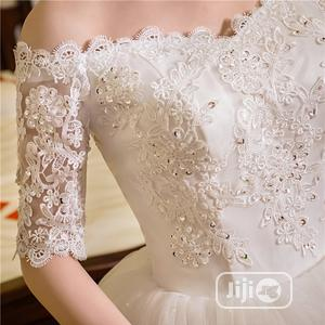 Imported Ball Wedding Gown WORN ONCE | Wedding Wear & Accessories for sale in Osun State, Ife