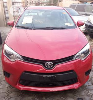 Toyota Corolla 2014 Red | Cars for sale in Lagos State, Ajah