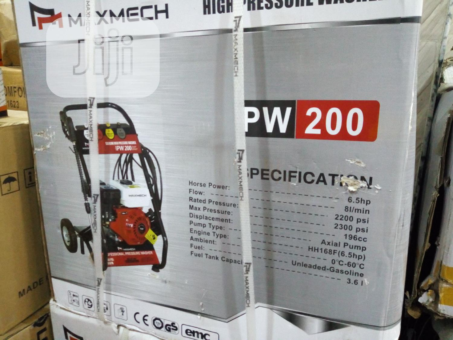 Original MAXMECH Car Pressure Washer | Vehicle Parts & Accessories for sale in Ojo, Lagos State, Nigeria