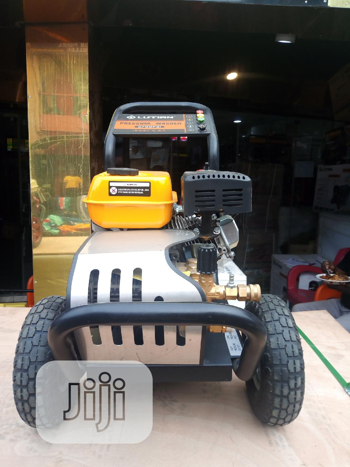 Higher Quality 6.5hp LUTIAN Pressure Washer | Garden for sale in Ojo, Lagos State, Nigeria