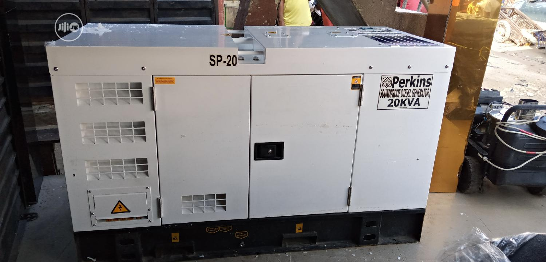 Archive: Original 20kva PERKINS Soundproof Diesel Generator
