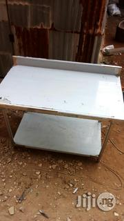 4 Feet Working Table With Back Panel | Restaurant & Catering Equipment for sale in Lagos State, Ojo