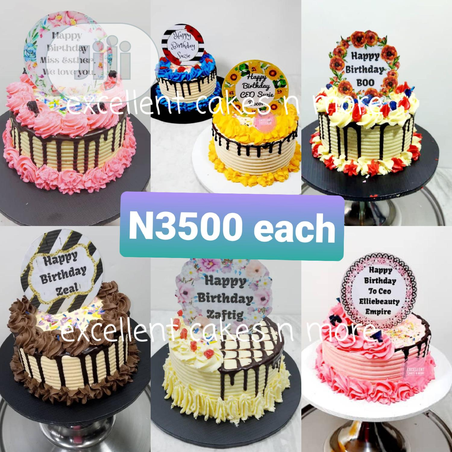 Birthday Cakes and Wedding Cakes | Party, Catering & Event Services for sale in Port-Harcourt, Rivers State, Nigeria