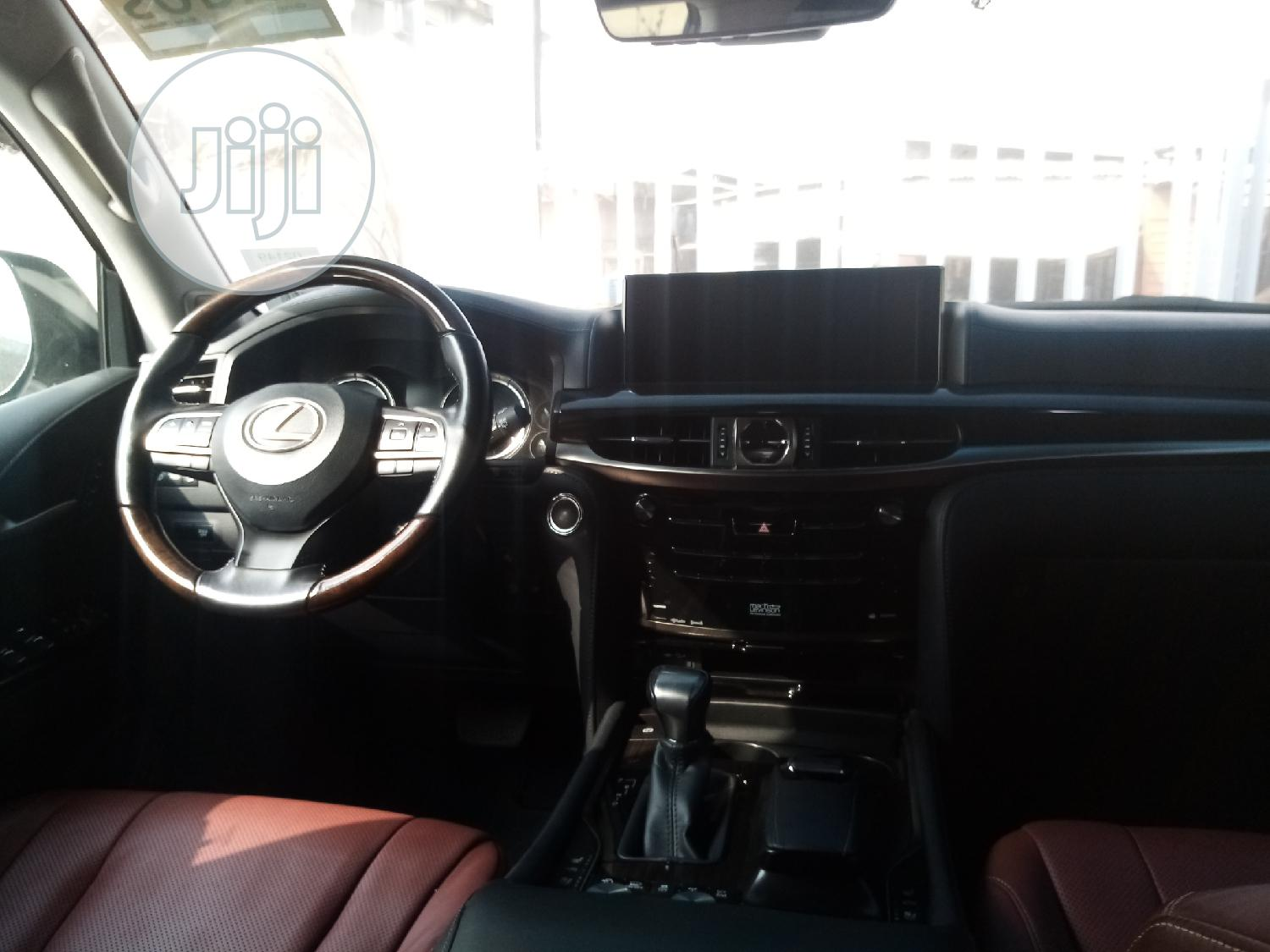 Lexus LX 2017 570 Base White | Cars for sale in Surulere, Lagos State, Nigeria