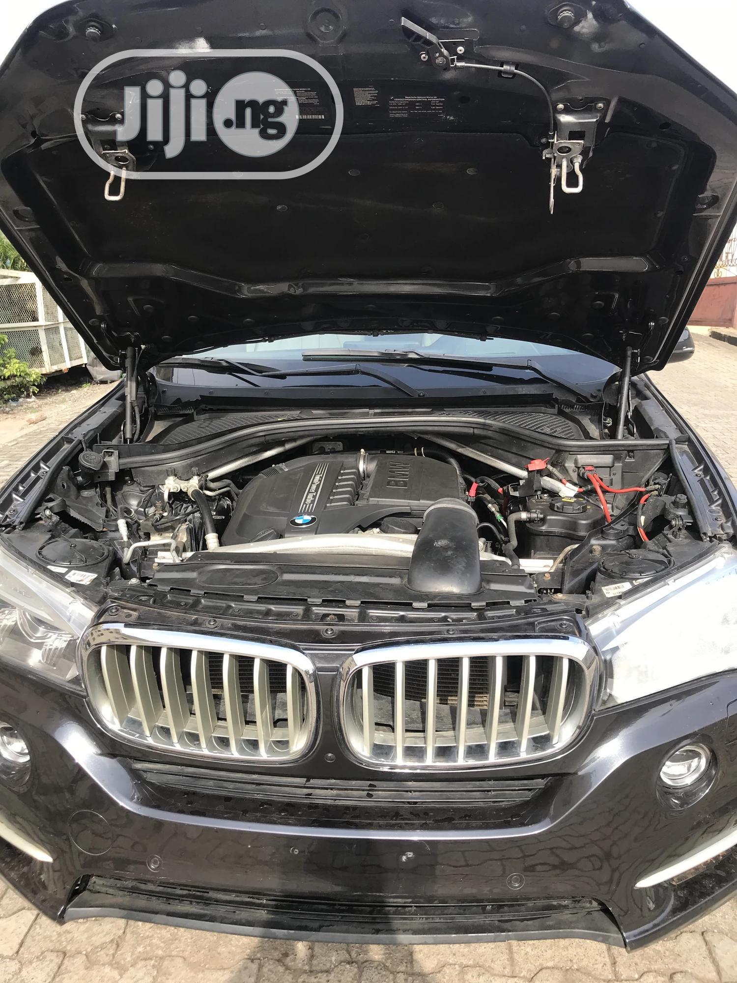 BMW X5 2015 Black   Cars for sale in Ikeja, Lagos State, Nigeria