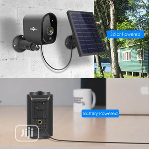C Vision 1080P Solar Panel Rechargeable Wireless IP Camera | Security & Surveillance for sale in Lagos State, Ikotun/Igando