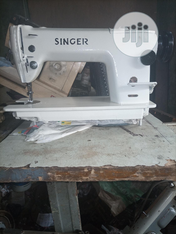 Singer Industrial Straight Sewing Machine