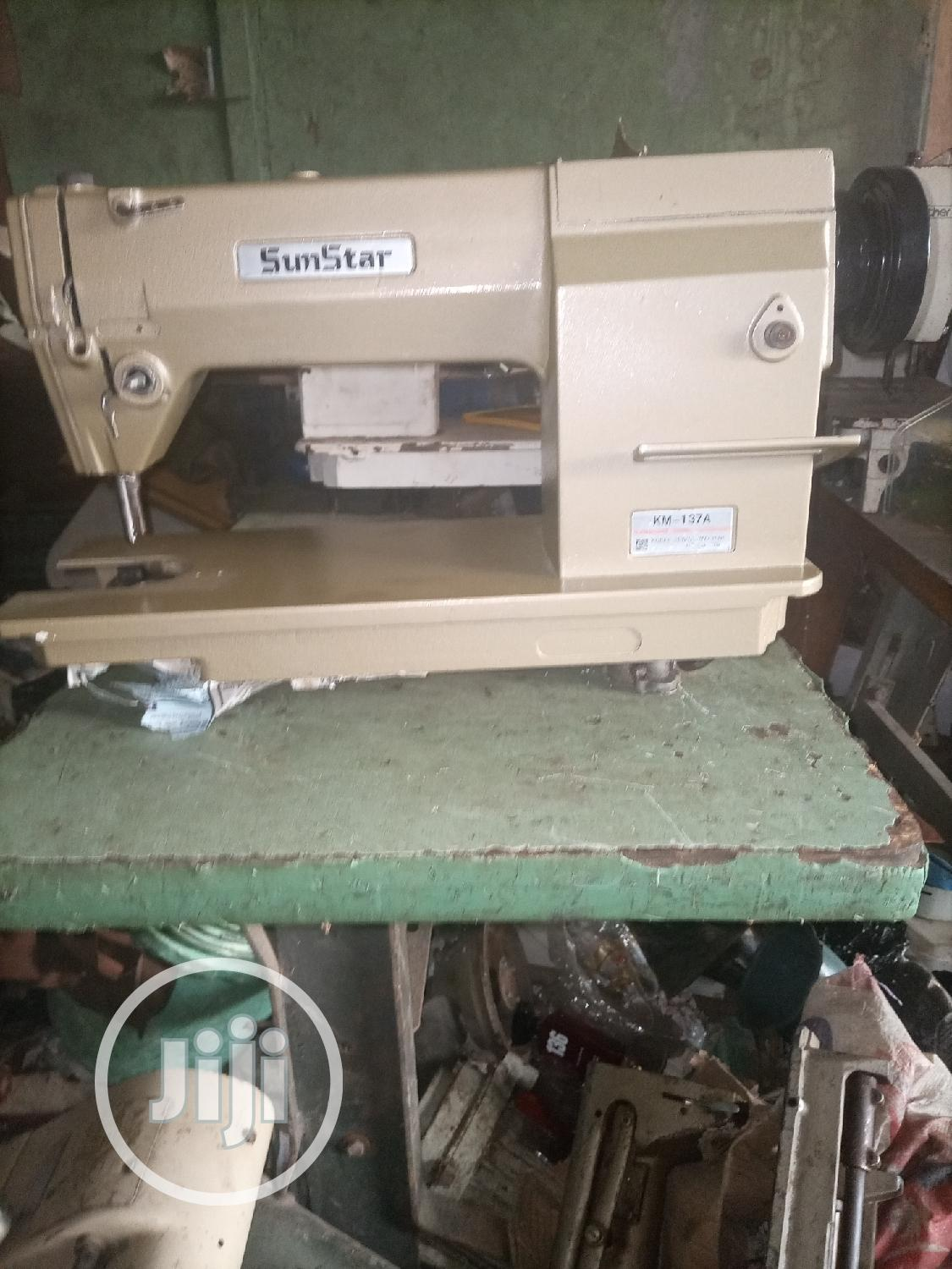 Archive: Sunstar Industrial Straight Sewing Machine