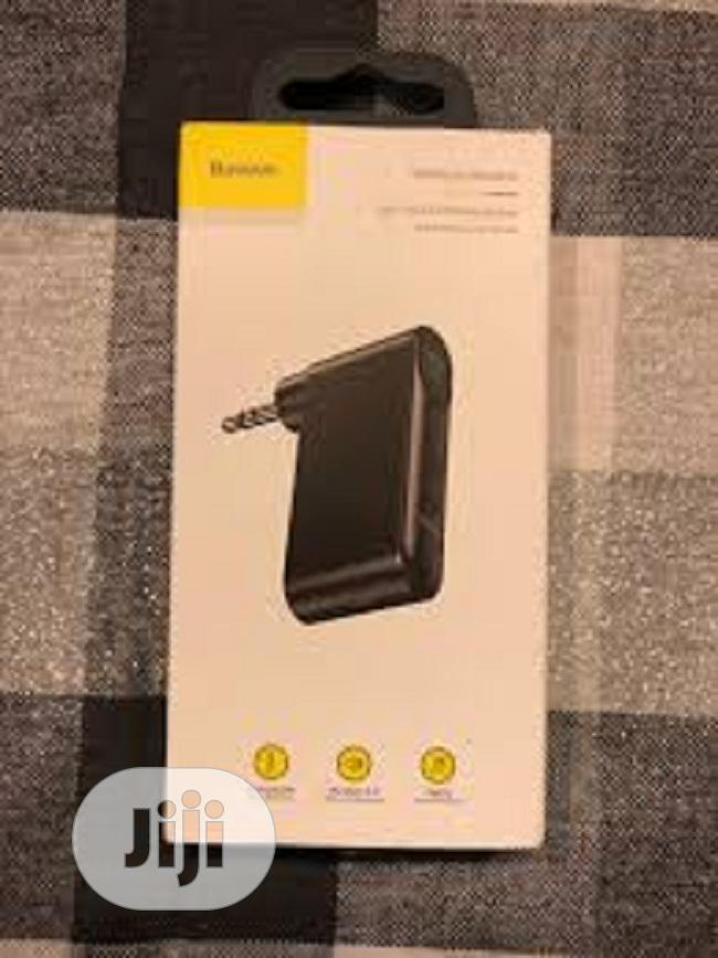 Baseus Type 7 AUX Car Wireless Receive | Accessories for Mobile Phones & Tablets for sale in Ikeja, Lagos State, Nigeria