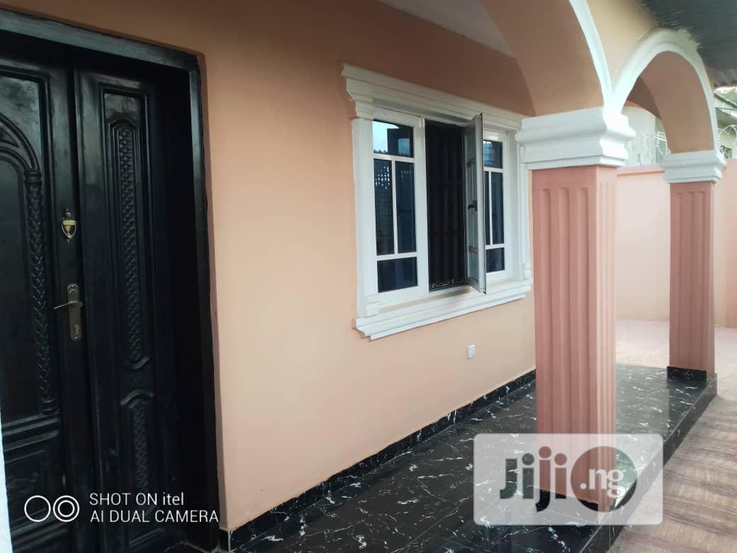 3 Bedroom Flat On 1/2 Plot Of Land At Bank Olodo