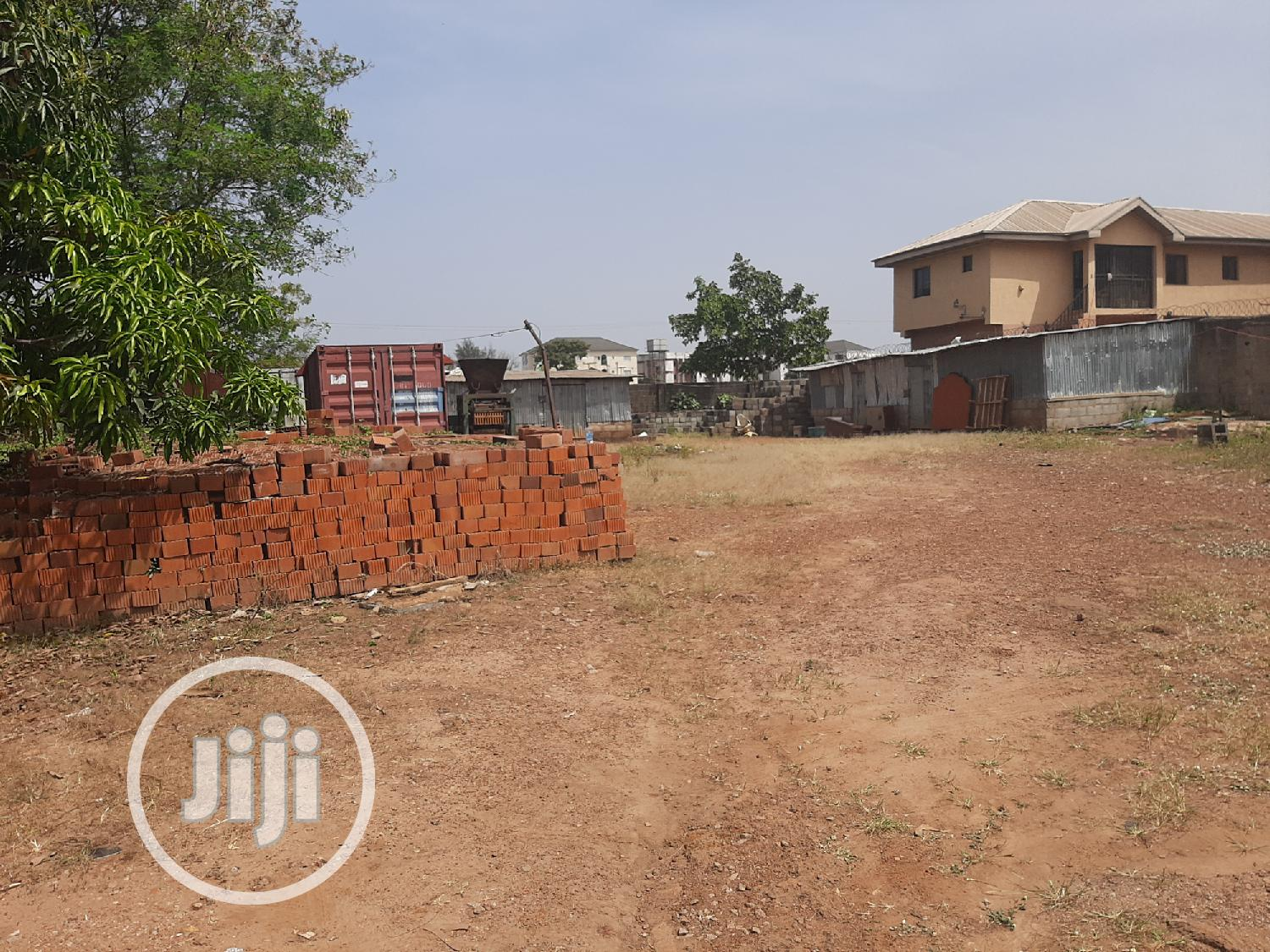 A Fenced Plot of Land Measuring 1,200sqm for Sale | Land & Plots For Sale for sale in Area 1, Garki 1, Nigeria