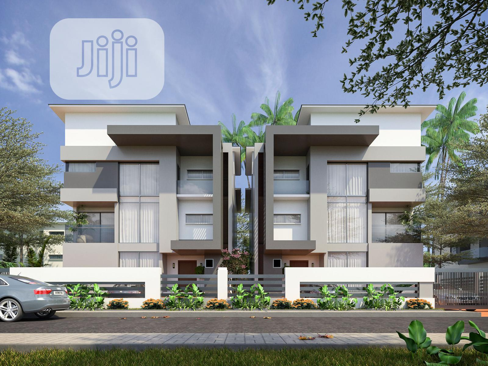 New Design 5 Bedroom Villa With BQ (Onxy) | Houses & Apartments For Sale for sale in Life Camp, Gwarinpa, Nigeria