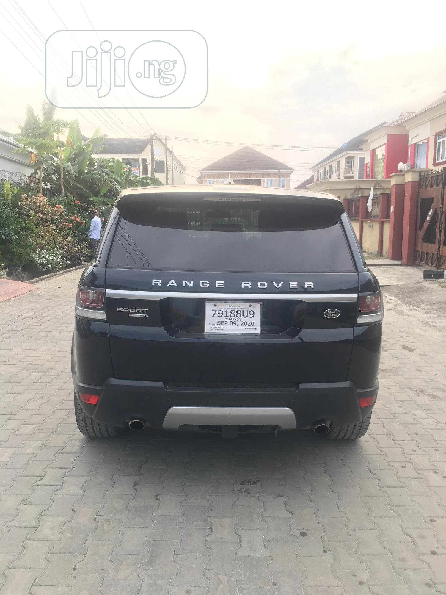 Land Rover Range Rover Sport 2014 HSE 4x4 (3.0L 6cyl 8A) Black | Cars for sale in Lekki, Lagos State, Nigeria