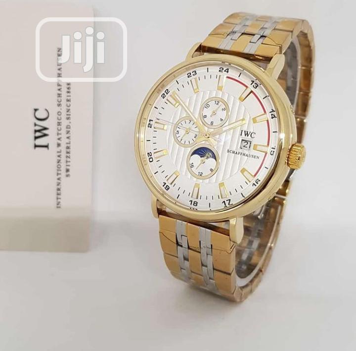 Top Quality IWC Schaffhausen Stainless Steel Watch