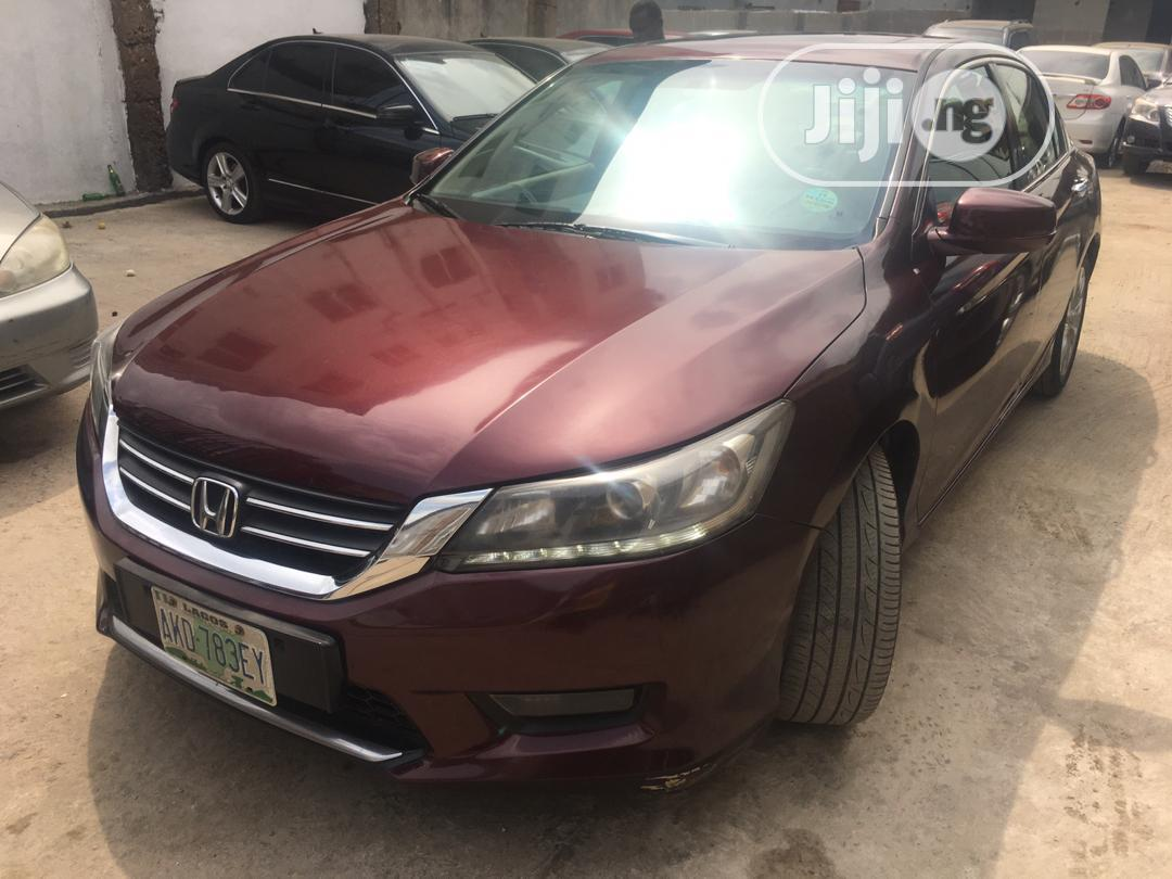 Honda Accord 2014 Red