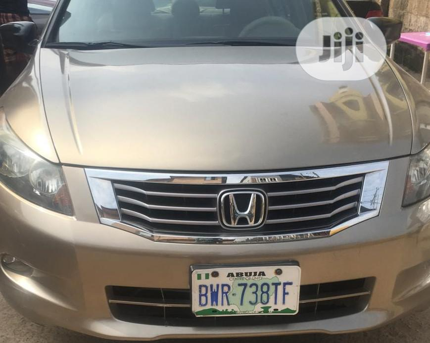 Honda Accord 2008 Gold | Cars for sale in Ikeja, Lagos State, Nigeria