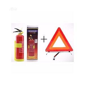 Fire Extinguisher + Triangular Safety Caution Sign | Safetywear & Equipment for sale in Lagos State, Lagos Island (Eko)