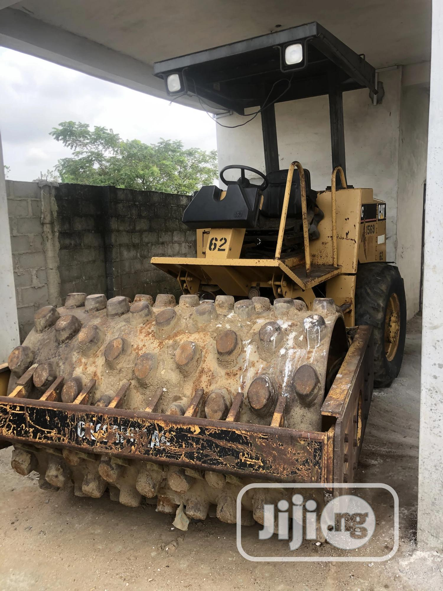 Archive: CAT Earth Roller For Sale