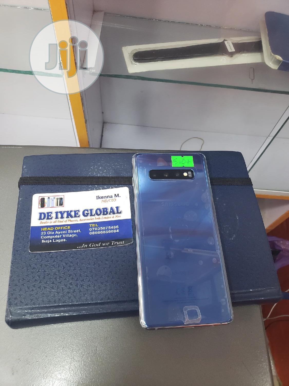 Samsung Galaxy S10 Plus 128 GB Blue | Mobile Phones for sale in Ikeja, Lagos State, Nigeria