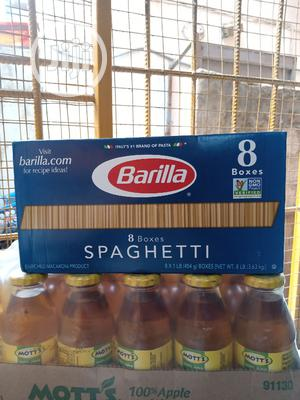 Barilla 8 Boxes Spaghetti | Meals & Drinks for sale in Lagos State, Surulere