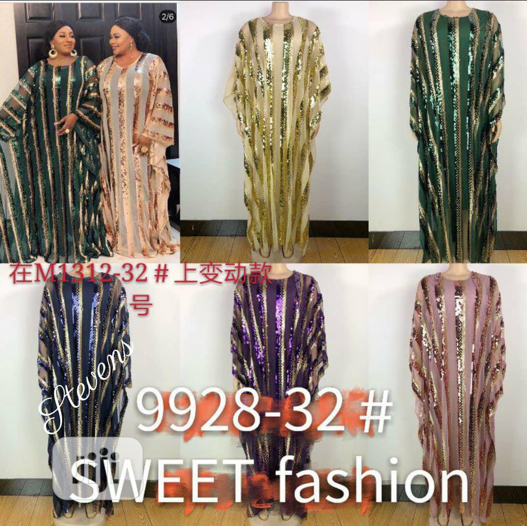 New Quality Female Flares Long Gowns