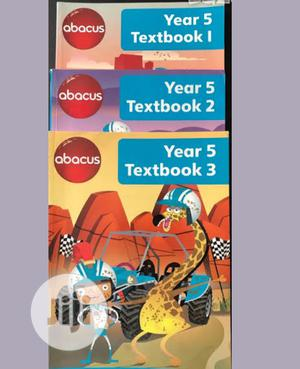 Abacus Year 5 Textbook 1-2-3   Books & Games for sale in Lagos State, Surulere