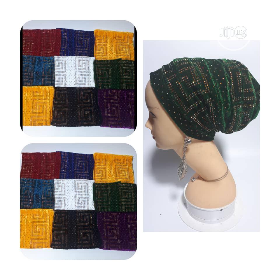 Green Turban Cap