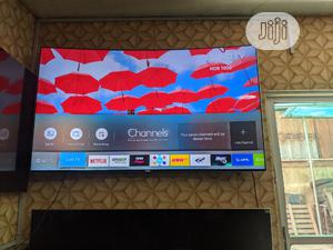 "Slim Bezzel Less 65""Samsung 4k SUHD Quantum Dot HDR Smart Tv | TV & DVD Equipment for sale in Lagos State, Ojo"