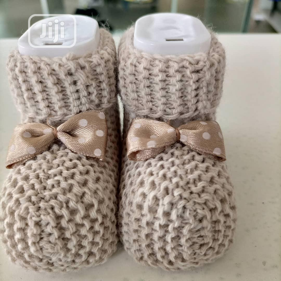Designers Baby Nitted Shoes