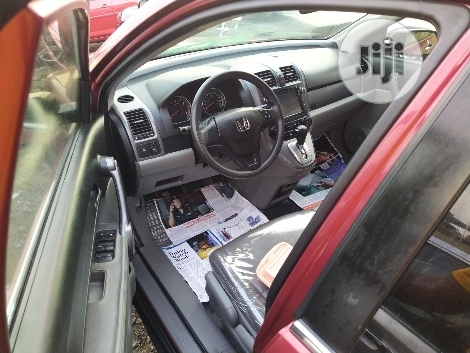 Archive: Honda CR-V 2008 2.4 EX 4x4 Automatic Red