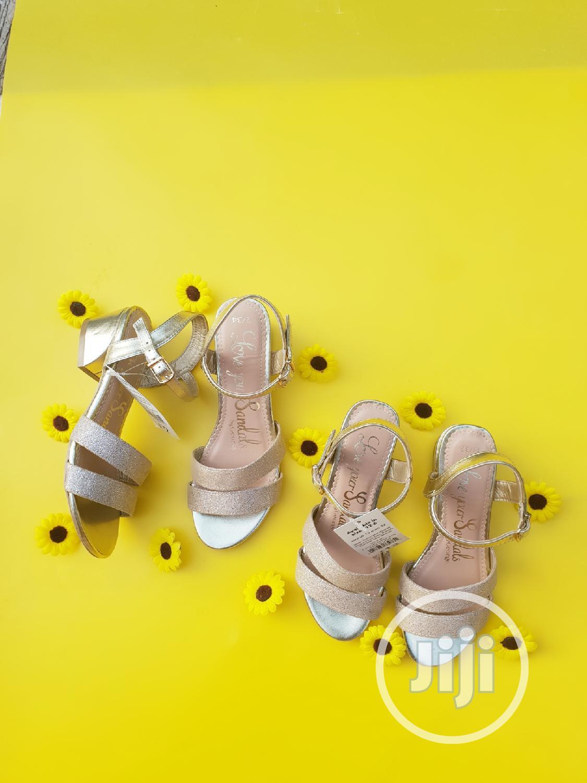 Archive: Girls Block Heel Sandal