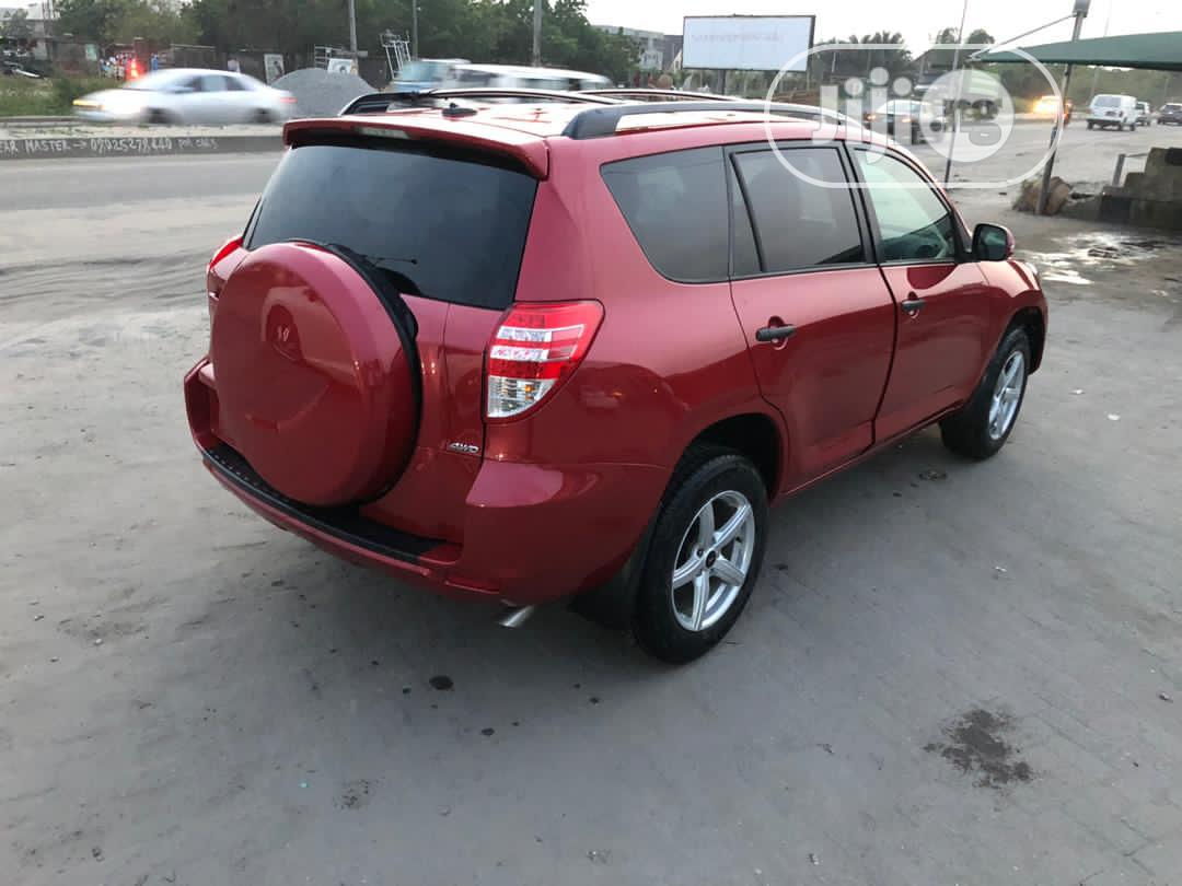Toyota RAV4 2011 3.5 Red | Cars for sale in Ajah, Lagos State, Nigeria