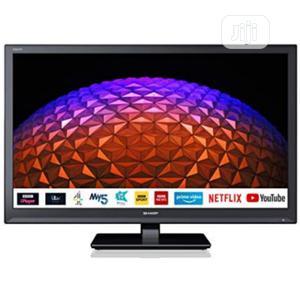24 Inch SHARP Full HD LED TV - London Used   TV & DVD Equipment for sale in Lagos State, Ojo