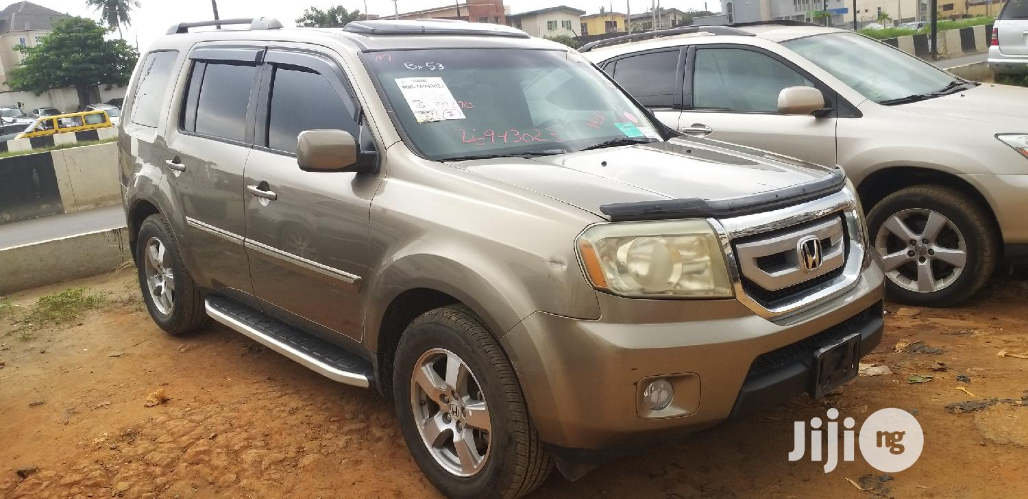 Honda Pilot 2011 Gold | Cars for sale in Isolo, Lagos State, Nigeria