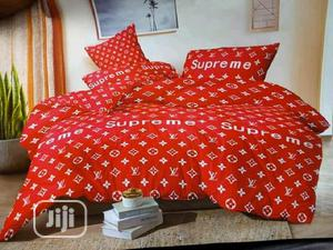 Red Supreme Designer Duvet Bedsheet | Home Accessories for sale in Lagos State, Ojota