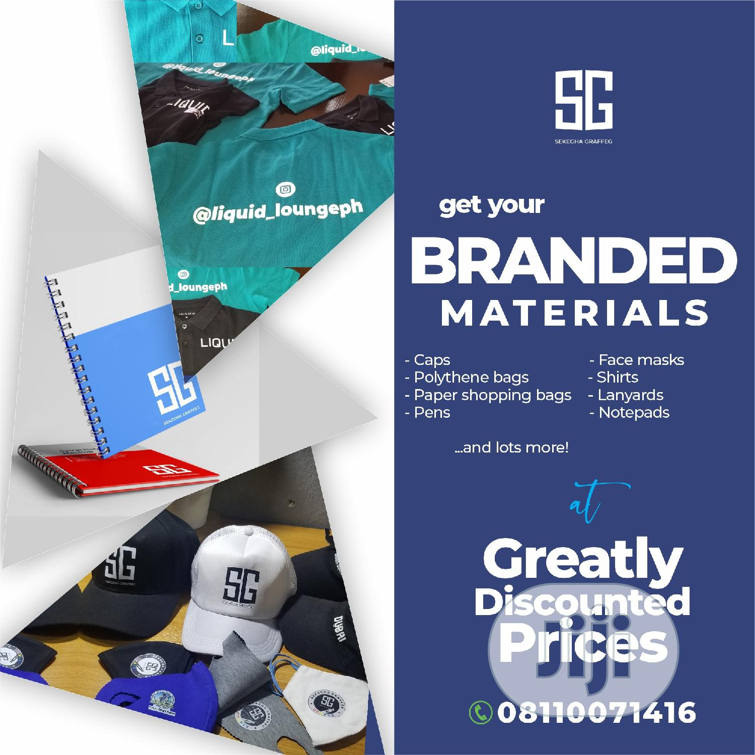 Graphic Design Services   Computer & IT Services for sale in Port-Harcourt, Rivers State, Nigeria