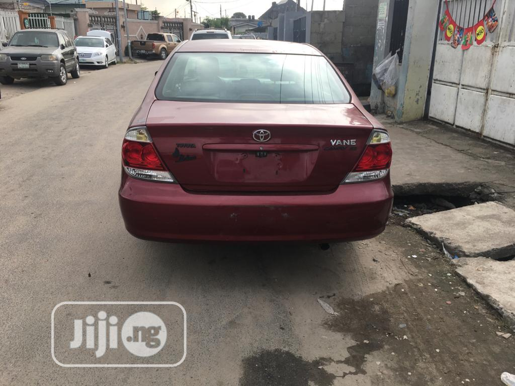 Toyota Camry 2005 2.4 XLi Red | Cars for sale in Surulere, Lagos State, Nigeria